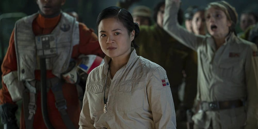 Kelly Marie Tran Reaction Rose Screen Time Star Wars The Rise of Skywalker Resistane