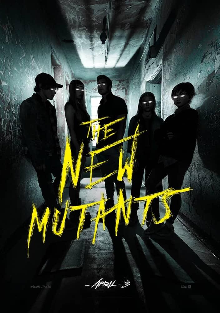 New Mutants Poster, New Mutants, Disney, 20th Century Studios