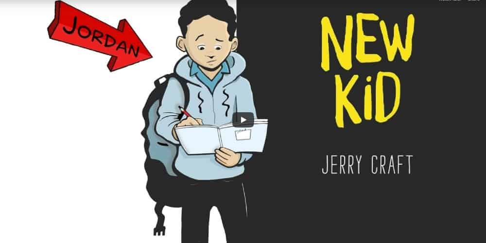 Jerry Craft's New Kid, New Kid, Newbery Award,
