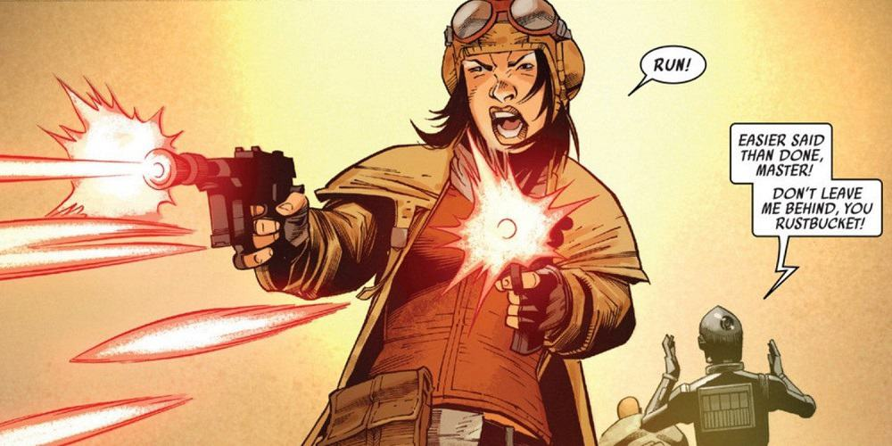 Star Wars Live-action Doctor Aphra Series Action