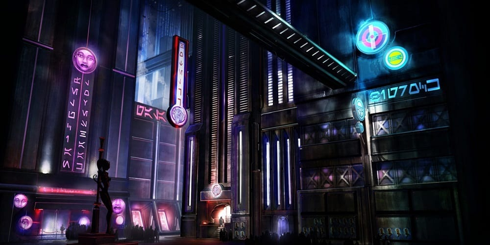 Star Wars Underworld Test Footage Concept Art Coruscant