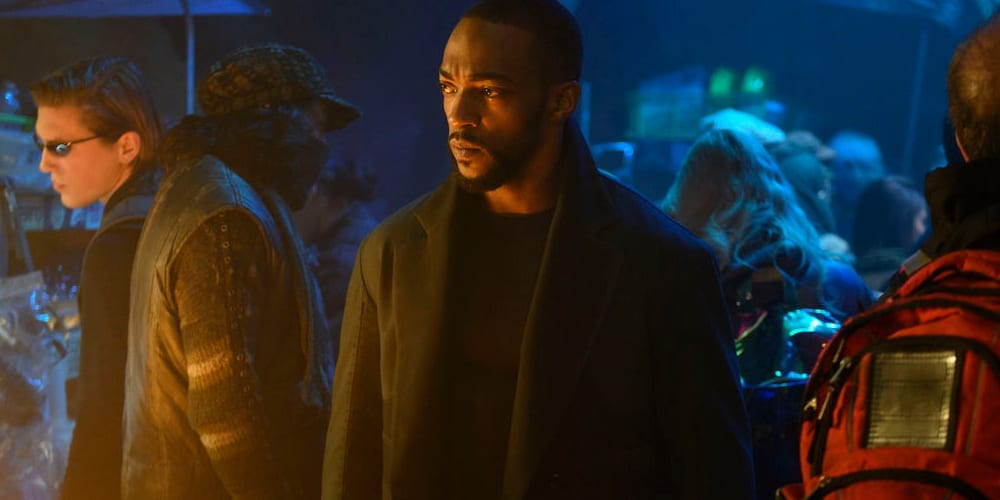 Altered Carbon Season 2 trailer Anthony Mackie.