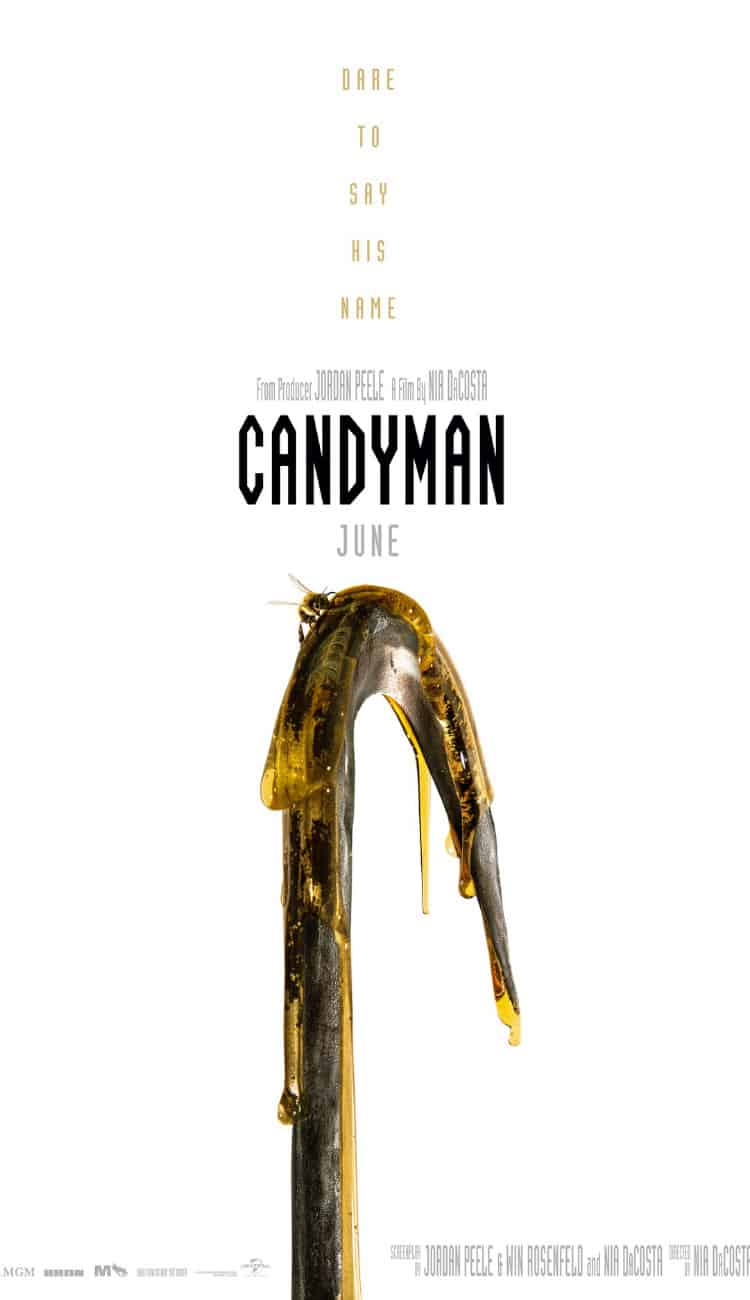 Candyman reboot trailer poster.