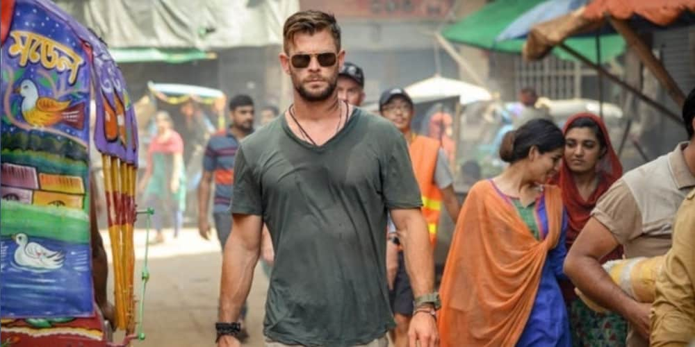 Chris Hemsworth's new Netflix movie Extraction