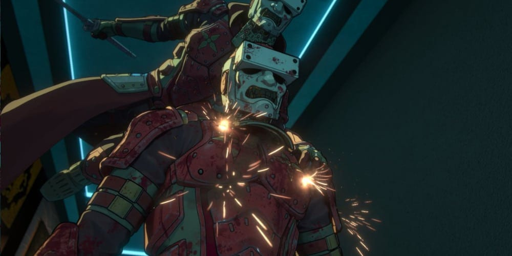 Altered Carbon Anime images.