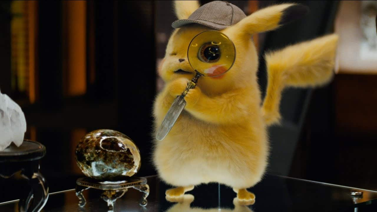 Detective Pikachu Video Game Movie
