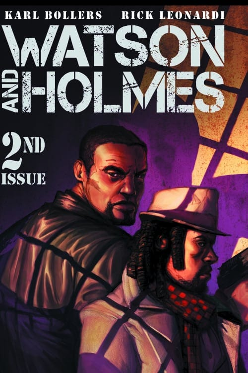 Watson and Holmes: A Study in Black, Karl Bollers, Black History Month, Black Comic Books