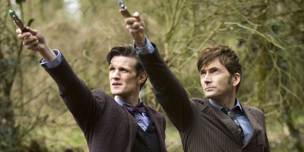 15th anniversary of modern era doctor who Matt Smith David Tennant Day of the Doctor