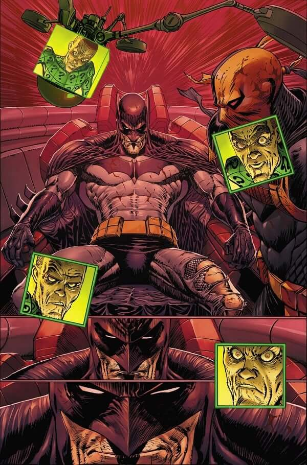 Batman #92 Harley Quinn Will Meet Punchline Joker and Batman is Busy with Deathstroke and the Riddler