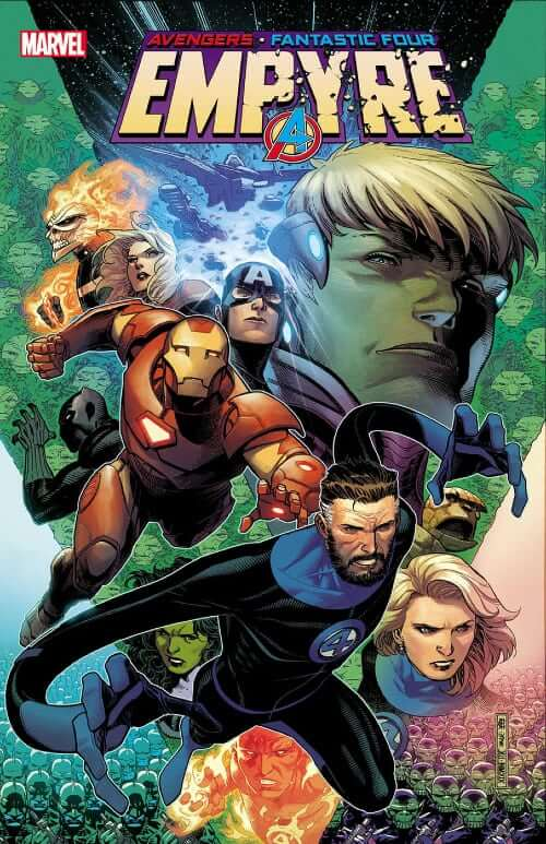 Empyre Launch Party, Marvel Comics, Avengers, Fantastic Four, Hulkling