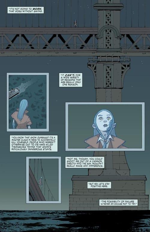 Depression, Superhero Comics, Suicide, Young Animal, Eternity Girl, Doom Patrol, DC Comics, Shade the Changing the Girl