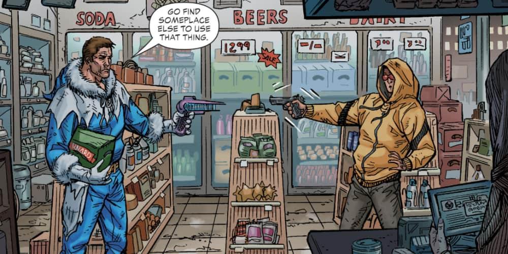 Captain Cold, Geoff Johns, Scott Kolins Keystone City, Rogues, Flash, DC Comics