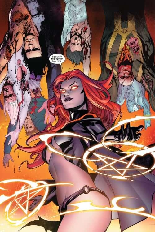 The Goblin Queen, Madelyne Pryor, Inferno, Mr. Sinister, Marauders, X-Men, X-Factor, Scalphunter