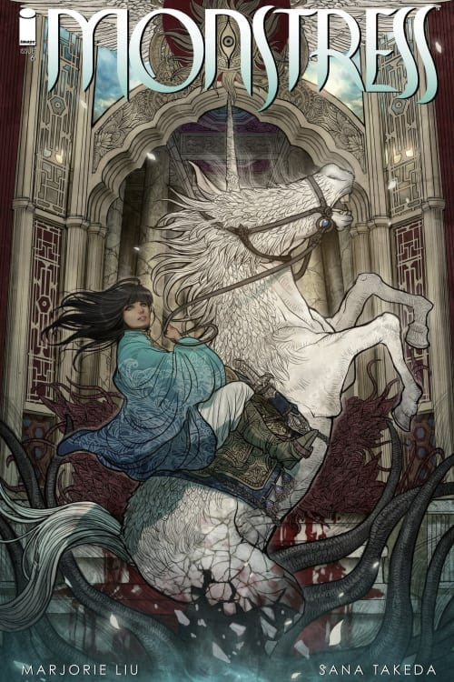 Monstress, Unicorns, Marjorie Liu, Sana Takeda, Image Comics, Eisner Winner