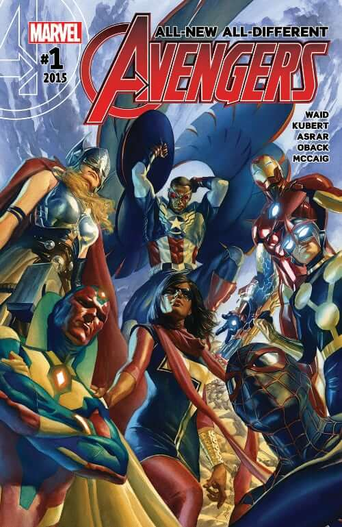 Mark Waid, Avengers, Alex Ross, All-New All Different, Marvel Comics, Secret Wars