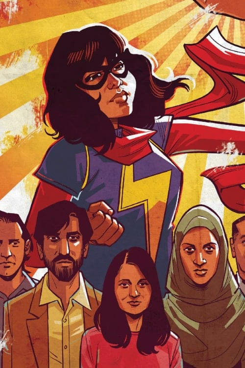 Ms Marvel, Marvel Comics, Representation, G Willow Wilson, Alif the Unseen, Wonder Woman