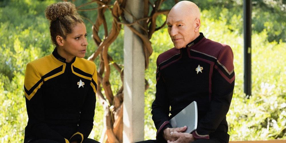 Star Trek Picard Season 1 Finale Rafi Jean-Luc Uniforms