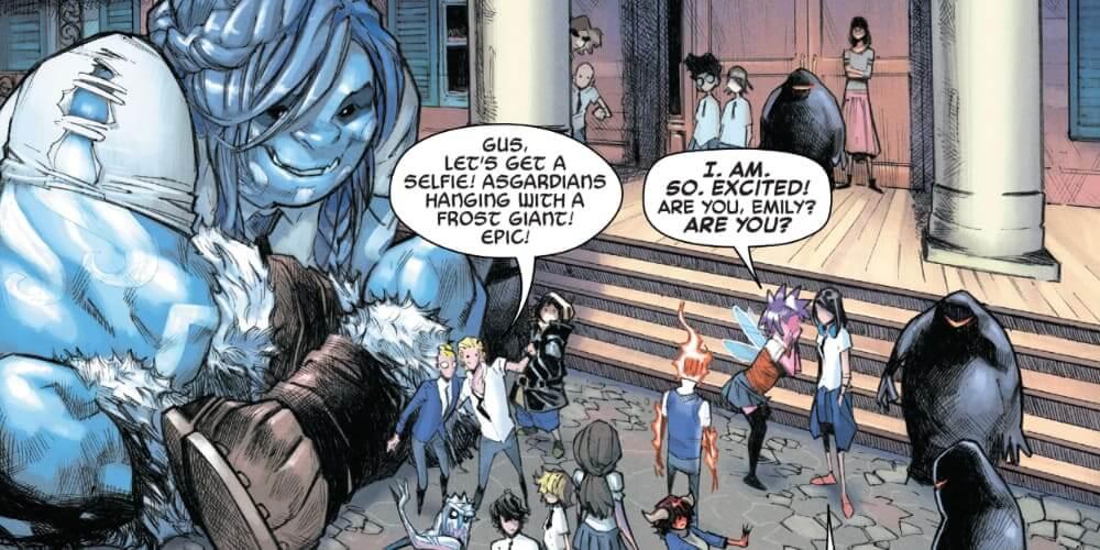 Frost Giants, Asgard, Dormammu, Stephen Strange, Ancient One, Scarlet Witch