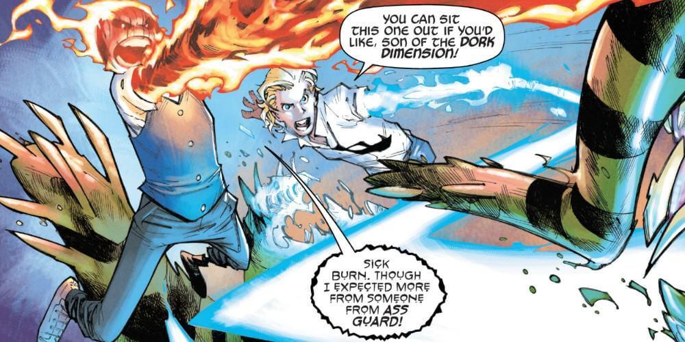Iric of Asgard, Doyle Dormammu, Skottie Young, Humberto Ramos, Strange Academy