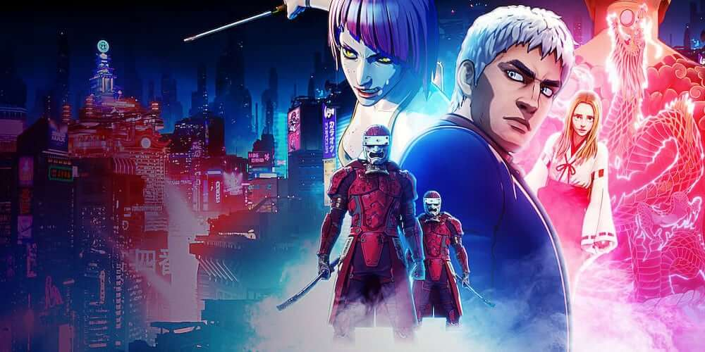 Altered Carbon Resleeved anime trailer poster
