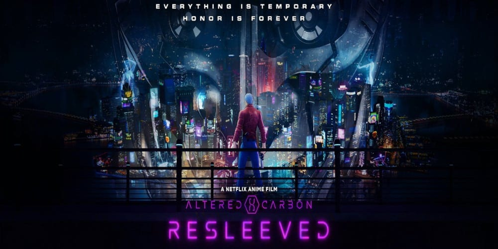 Altered Carbon Resleeved Anime Trailer Gloriously Expands The Universe