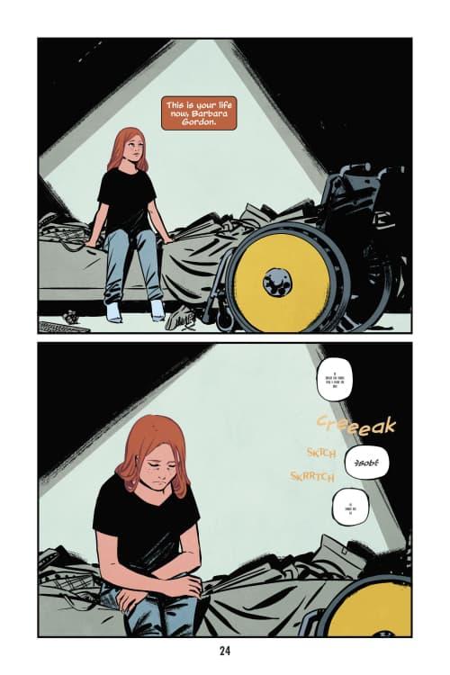 Oracle Code, Marieke Nijkamp, Manuel Preitano, Disabled Superheroes, Batgirl, DC Comics, DC Ink, Young Adult, YA Graphic Novels