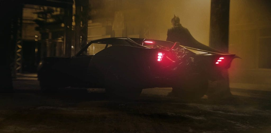 Batmobile first look batman