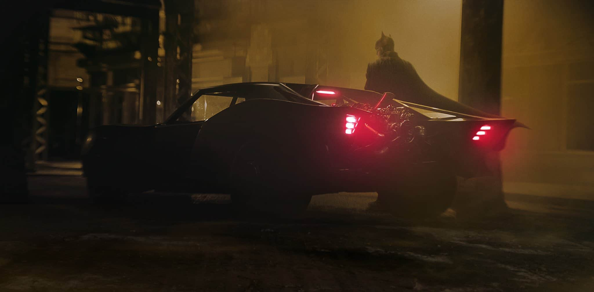 Batmobile first look batman