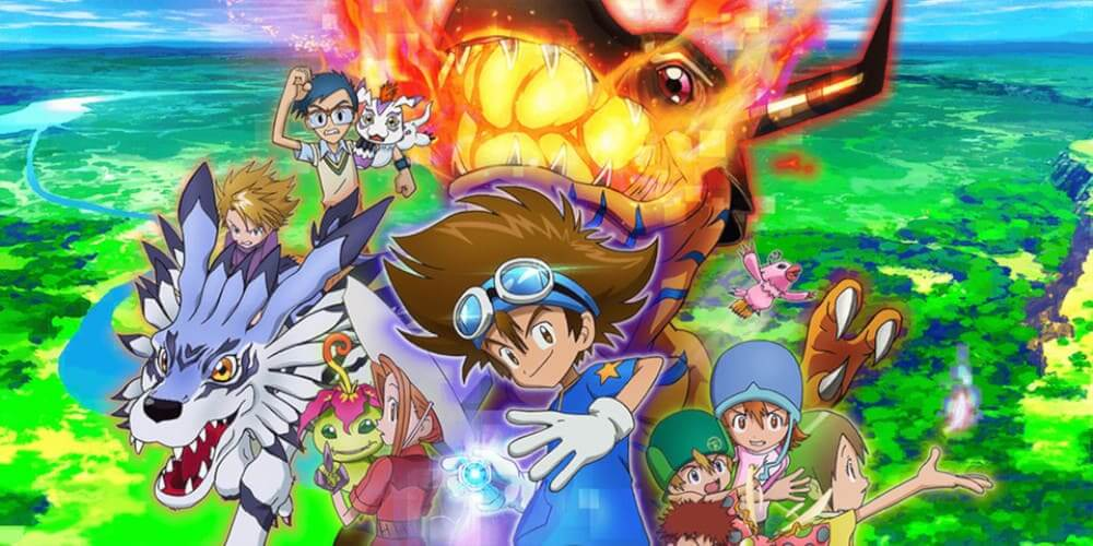 Digimon Adventure trailer new movie poster.