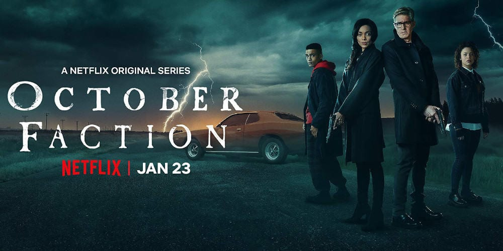 October Faction season 1 poster