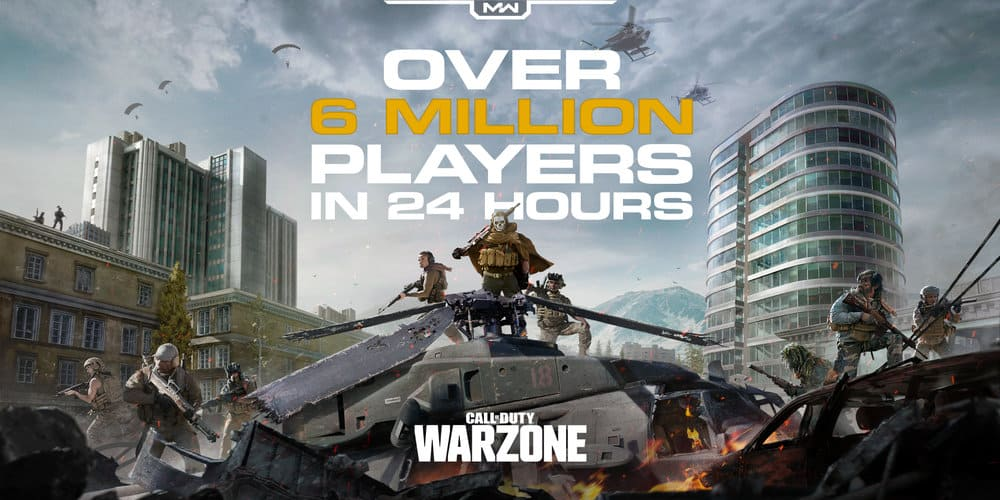 call of duty warzone player count
