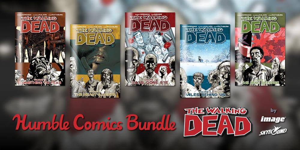 full walking dead comics set