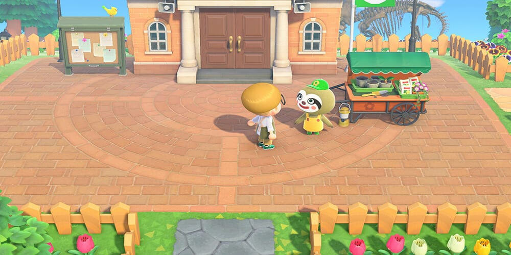 animal crossing spring update