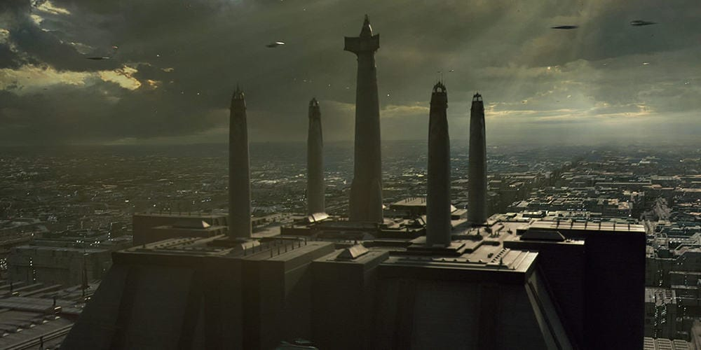 star wars planets: coruscant
