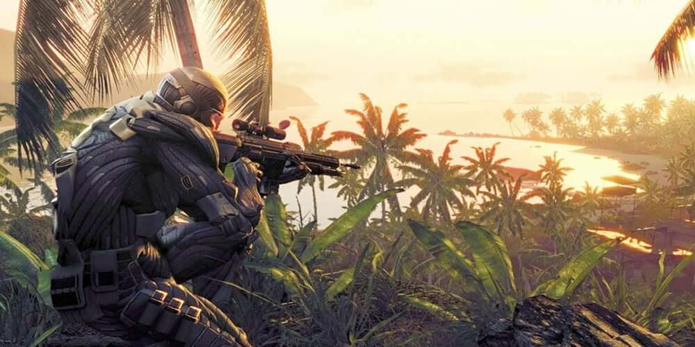 the history of the crytek series