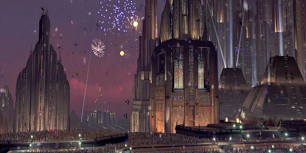 Star Wars Planets Coruscant Background And Importance Comic Years