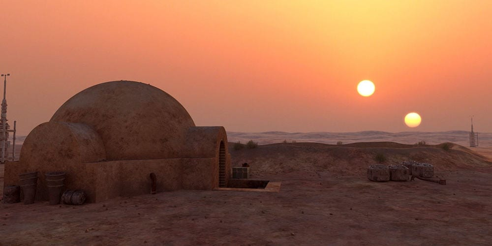 star wars planets: tatooine