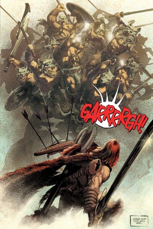 Jeff Lemire, Mike Deodato Jr, Berserker Unbound, Conan the Barbarian, Dark Horse Comics, Marvel Comics, Savage Avengers, Sword and Sorcery