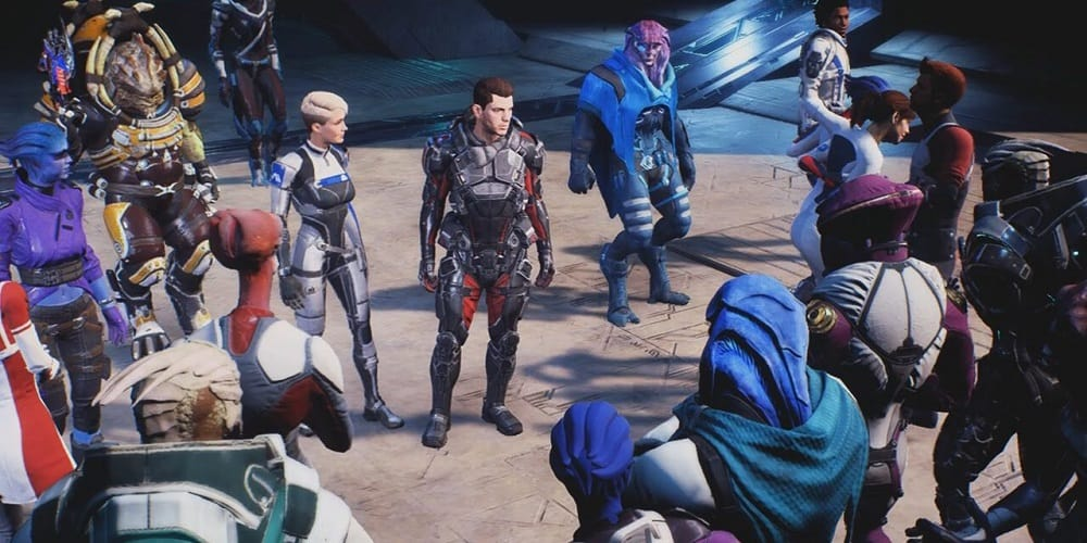 BioWare Job Posting New Mass Effect Game Mass Effect Andromeda