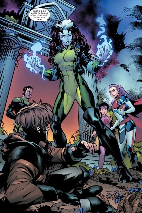 Dawn of X, X-Men, Apocalypse, Gambit, Rogue, Jubilee, Captain Britain, Apocalypse, Covid-19