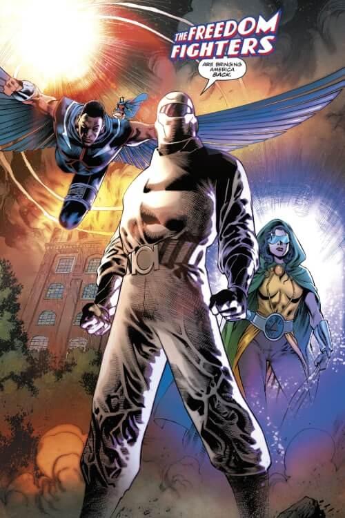 Freedom Fighters, Robert Venditti, DC Comics, Covid-19, Quarantine, United States of America, Nazis, World War II