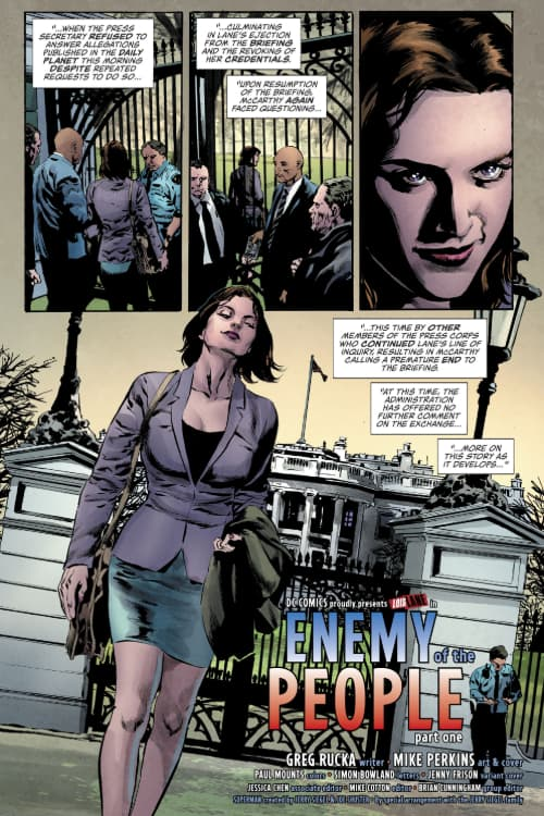 Social Distancing, Comics, Comixology, Wednesday Comics, Lois Lane, DC Comics, Superman, the Question, Renee Montoya, Birds of Prey