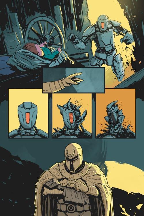 Magneto, Fanfiction Comic, X-Men, Twitter, Coronavirus, COVID-19, Dawn of X, Social Distancing, Sachi Ediriweera