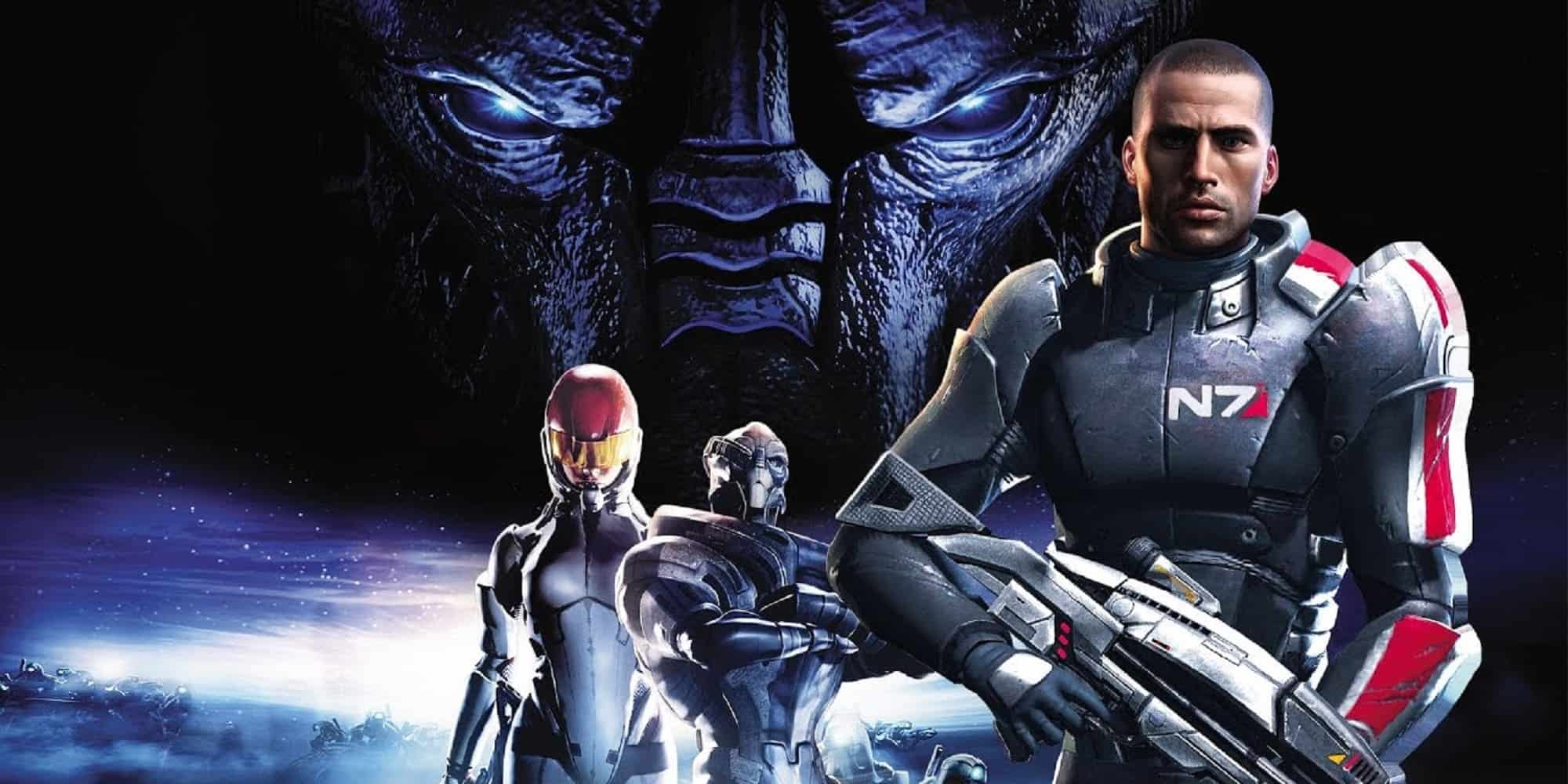 Mass Effect 1 playable next-gen consoles Featured key art