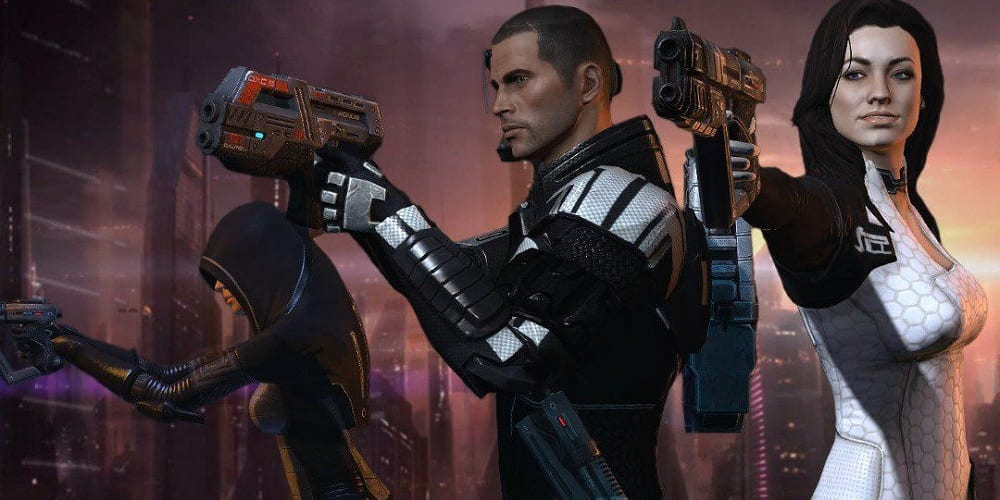 Mass Effect 2 Best Sequel Games of All Time Shepard Kasumi Goto Miranda Lawson