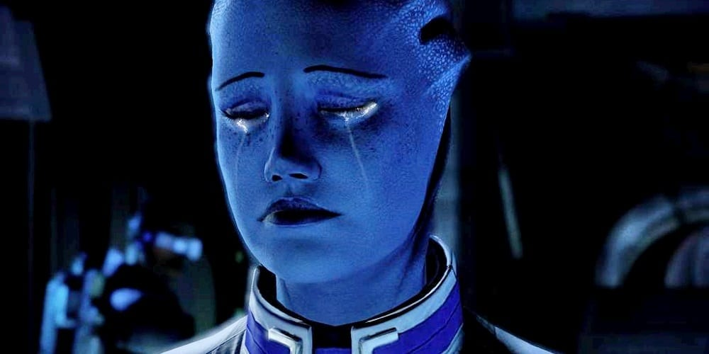 Mass Effect 3 Ending DLC Controversy Liara Crying