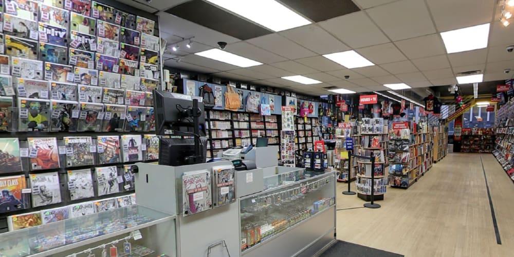 Midtown Comics, Comixology, InStockTrades, Barnes & Noble, Times Square, Coronavirus