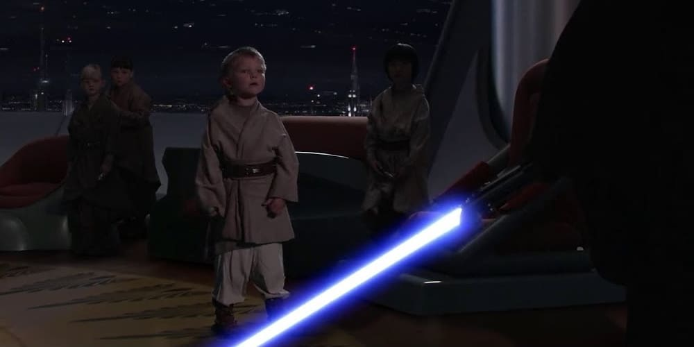 Younglings, Revenge of the Sith, Episode III, Prequel Trilogy, Hayden Christensen, James Earl Jones, 20th Century Fox, Disney, LucasFilm
