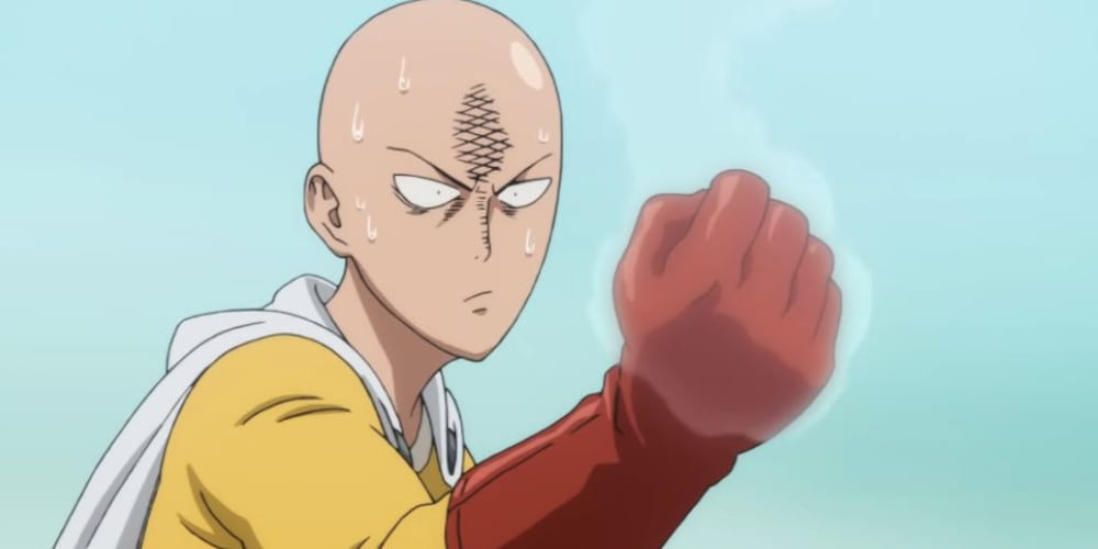 One Punch Man live-action movie featured.