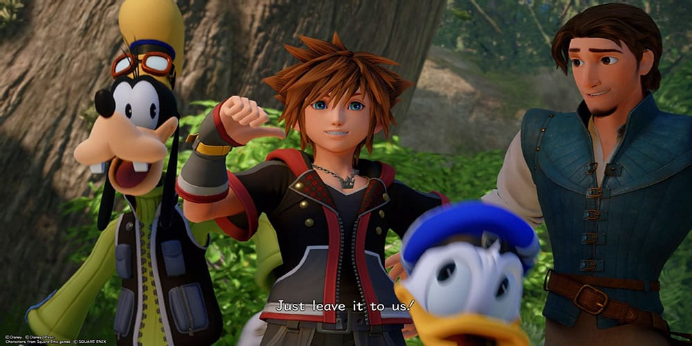 kingdom hearts disney+